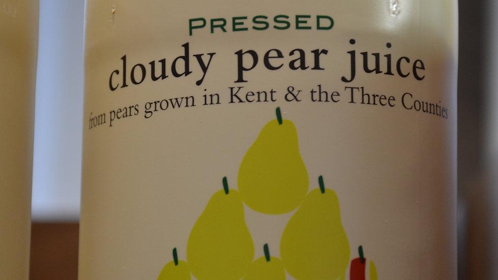 Folkington's Pressed Cloudy Pear Juice 1 litre (£/each)