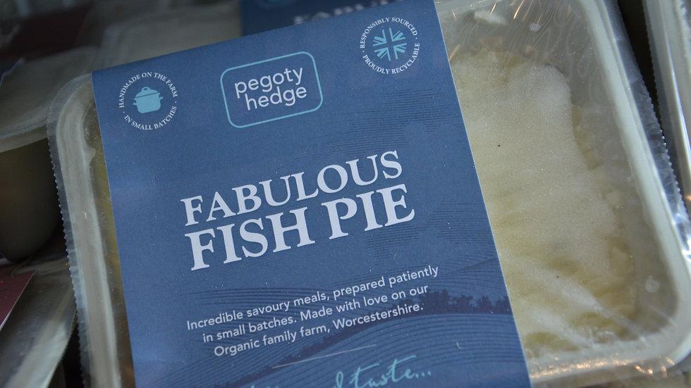 Pegoty Hedge Organic Fabulous Fish Pie 400g (£/each)