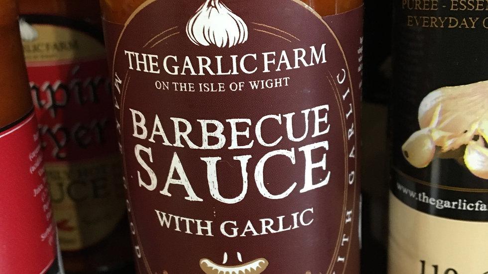 The Garlic Farm BBQ Sauce with Garlic (£/each)