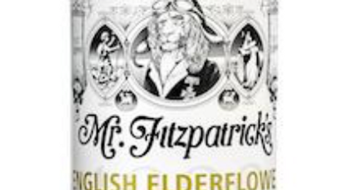 Mr Fitzpatrick's English Elderflower & Bramley Apple Cordial 500ml (£/each)
