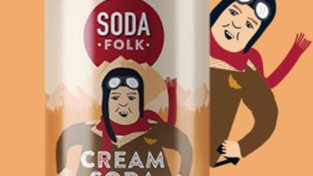 Soda Folk Cream Soda 330ml (£/each)