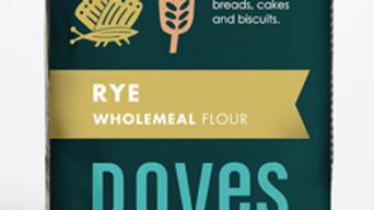 Doves Farm Organic Rye Wholemeal Flour 1kg (£/each)