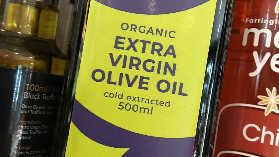 Suma Organic Extra Virgin Olive Oil 500ml (£/each)
