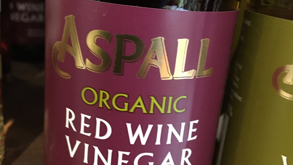 Aspall Organic Red Wine Vinegar 350ml (£/each)