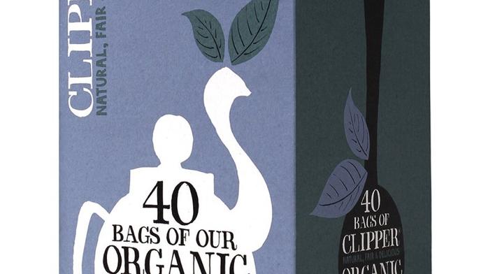 Clipper Teas - Organic Everyday Decaf Tea  - 40 bags (£/pack)