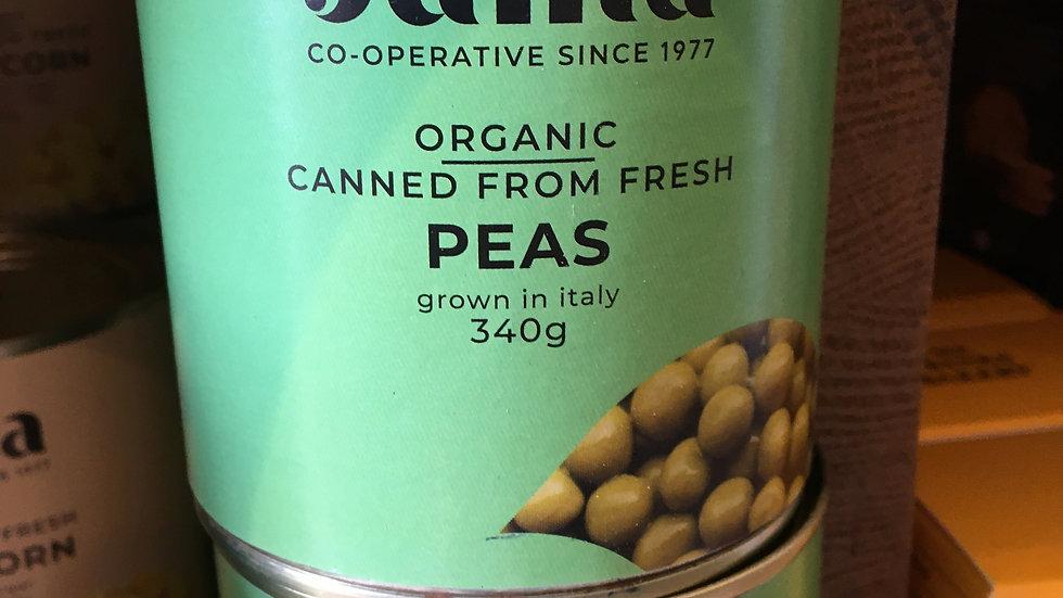Suma Organic Peas 340g (£/each)