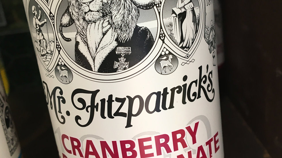 Mr Fitzpatrick's Cranberry & Pomegranate Cordial 500ml (£/each)