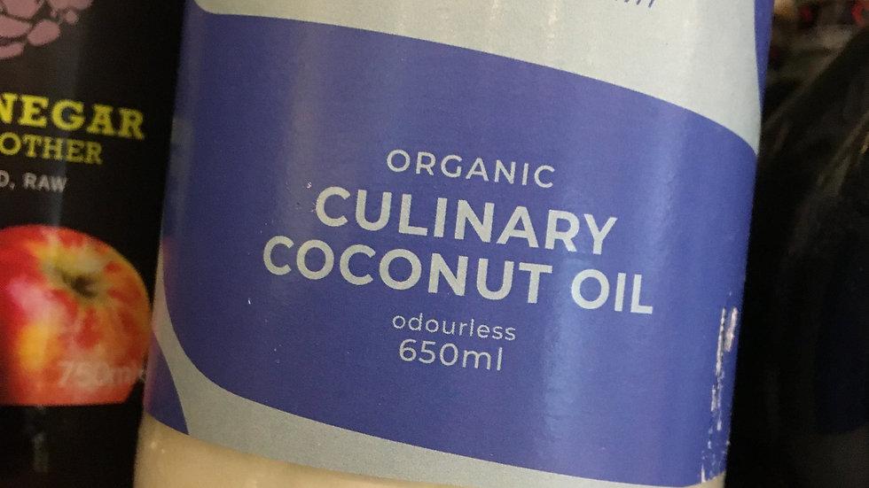 Suma Organic Culinary Coconut Oil 650ml (£/each)