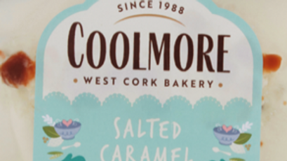 Coolmore Salted Caramel Cake 400g (£/each)