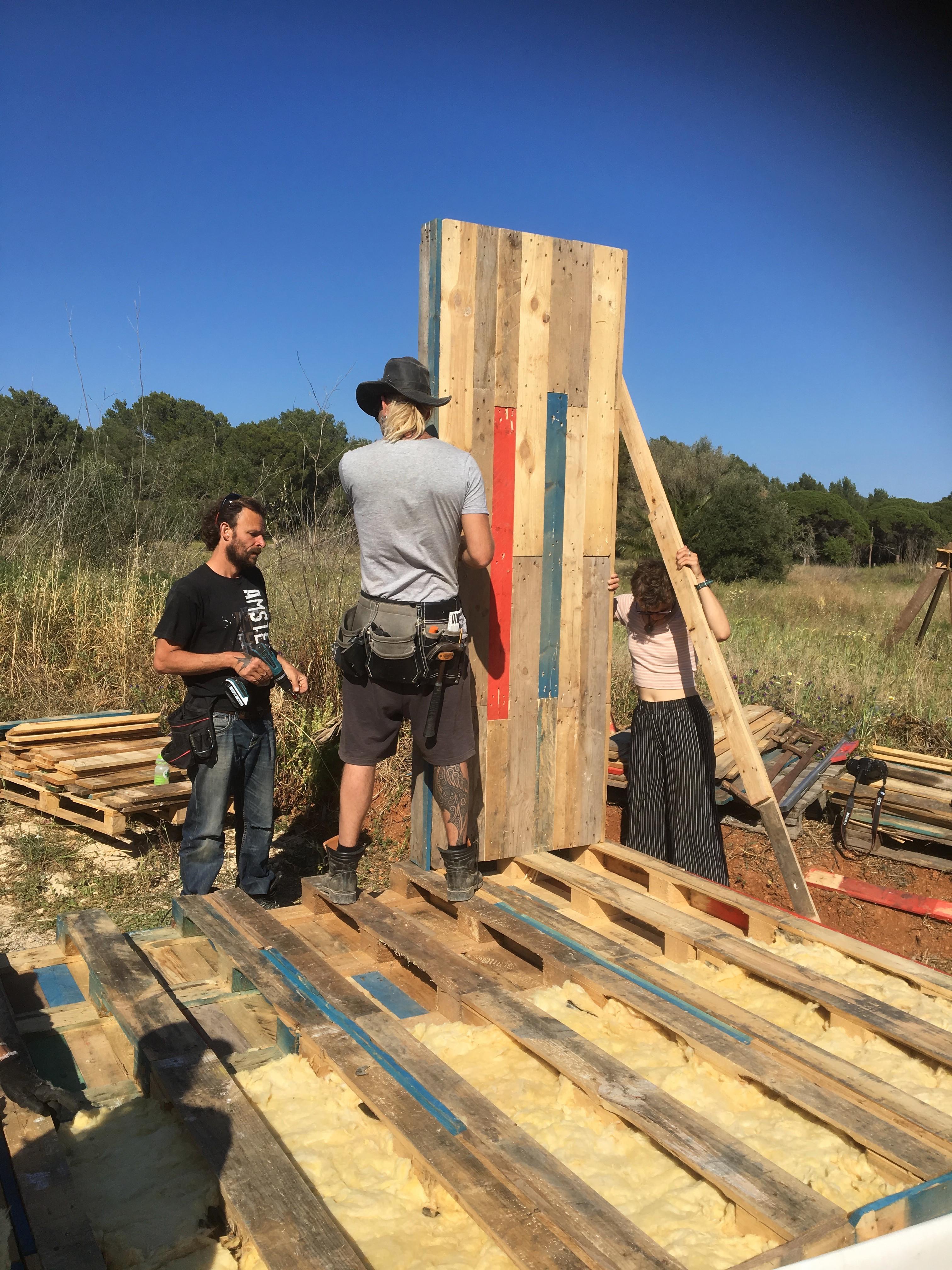 Tiny House Build - Oct 21 - Mallorca