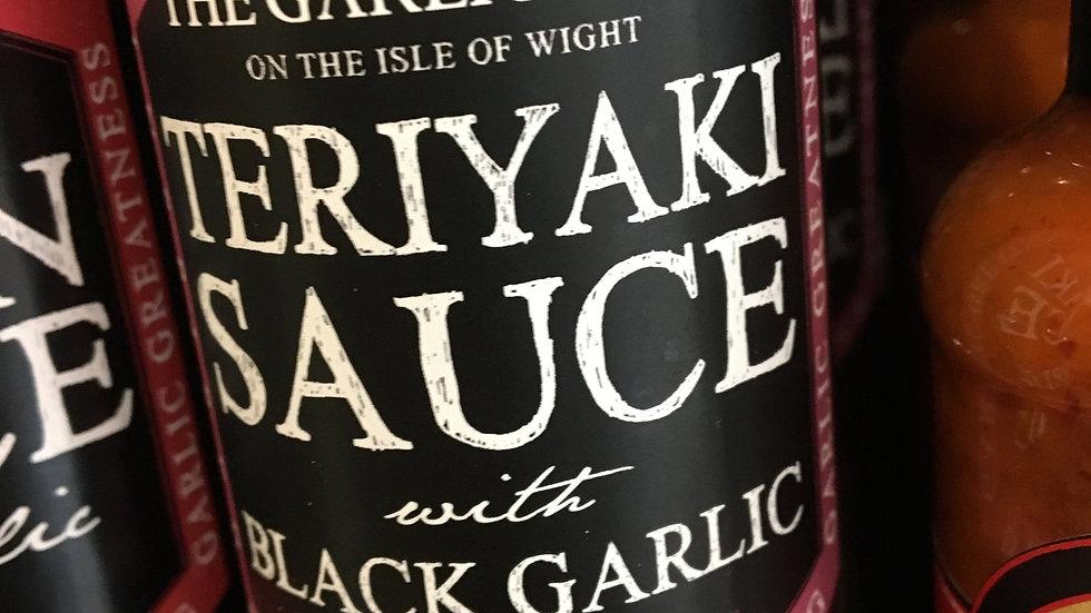 The Garlic Farm Teriyaki Sauce with Black Garlic (£/each)