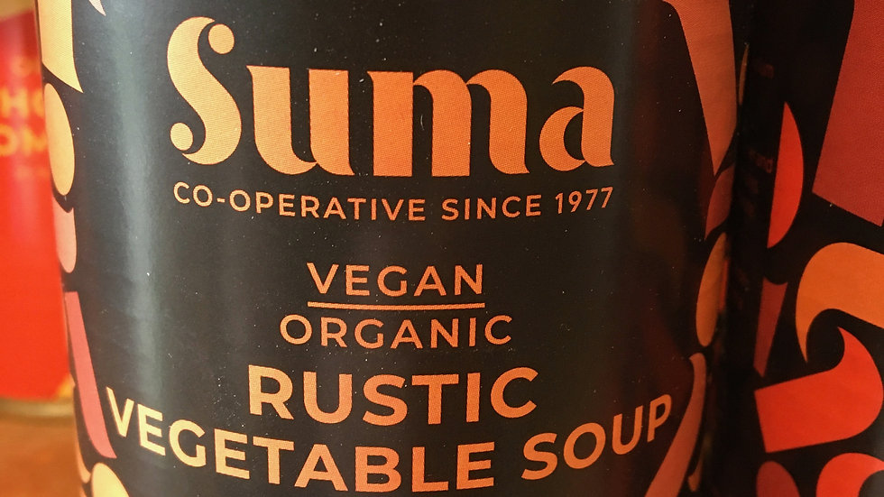 Suma Organic & Vegan Rustic Vegetable Soup 400g (£/each)