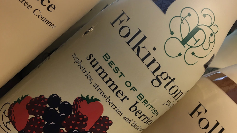 Folkington's Best of British Summer Berries 1 litre (£/each)