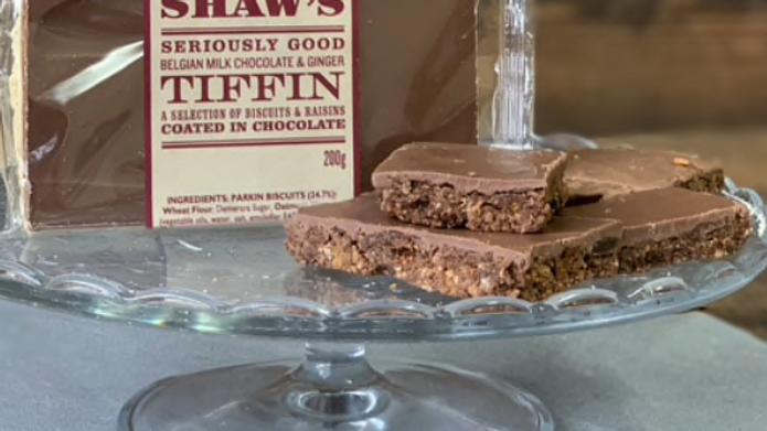 Lottie Shaw's - Belgian Milk Chocolate & Ginger Tiffin (£/each)