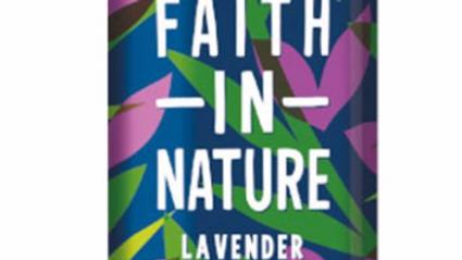 Faith in Nature - Body Wash - 400ml - Lavender & Geranium (£/each)