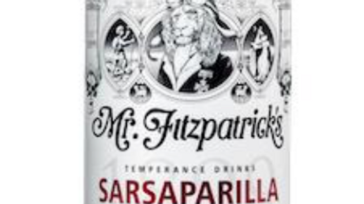 Mr Fitzpatrick's Sarsaparilla Cordial 500ml (£/each)