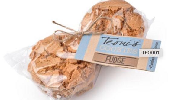 Teoni's Cookies - Fudge Oat Crunch 300g (£/pack)