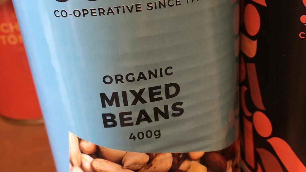 Suma Organic Mixed Beans 400g (£/each)