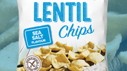 Eat Real Lentil Chips - Sea Salt 113g (£/each)