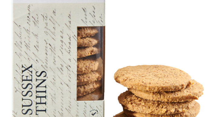 Horsham Gingerbread Bakehouse Sussex Thins Lemon Puddle 175g (£/each)