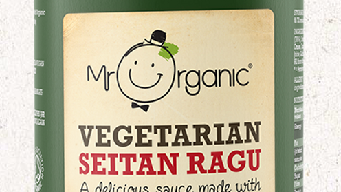 Mr Organic Vegetarian Seitan Ragu 350g (£/each)