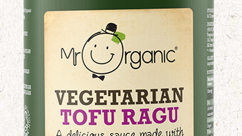Mr Organic Vegetarian Tofu Ragu 350g (£/each)