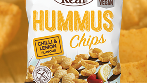 Eat Real Hummus Chips - Chilli & Lemon 135g (£/each)