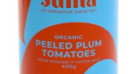 Suma Organic Peeled Plum Tomatoes 400g (£/each)