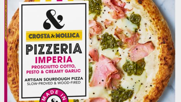 Crosta & Mollica Pizzeria Artisan Sourdough Imperia Pizza 419g (£/each)