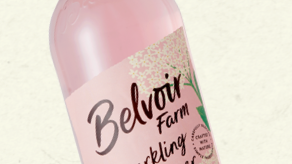 Belvoir Farm Sparkling Elderflower & Rose 750ml (£/each)