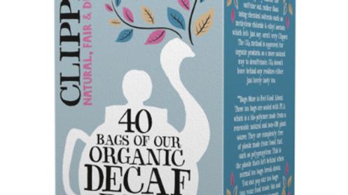 Clipper Teas - Organic Decaf Earl Grey - 40 bags (£/pack)