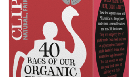 Clipper Teas - Organic & Fairtrade English Breakfast Tea  - 40 bags (£/pack)