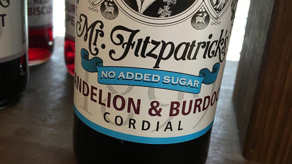 Mr Fitzpatrick's Dandelion & Burdock Cordial 500ml (£/each)