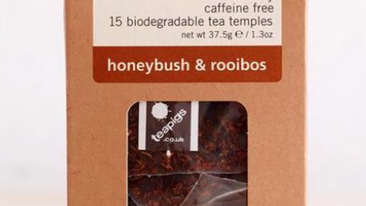 Teapigs - Honeybush & Rooibos - 15 Tea Temples (£/pack)
