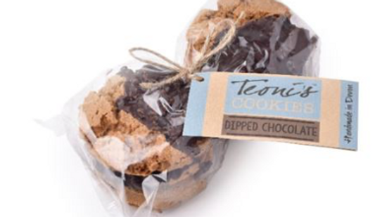 Teoni's Cookies - Dipped Chocolate Chip 300g (£/pack)