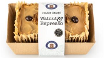 The Buxton Pudding Company Handmade Walnut & Expresso Loaf Cake 570g (£/each)