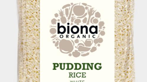 Biona Organic Pudding Rice 500g (£/each)