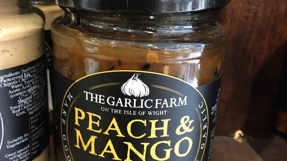 The Garlic Farm Peach & Mango Chutney 300g (£/each)