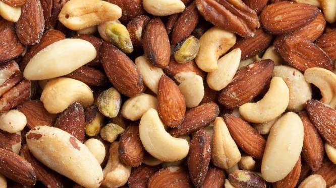 Dispensed Organic Mixed Nuts (£/100g)