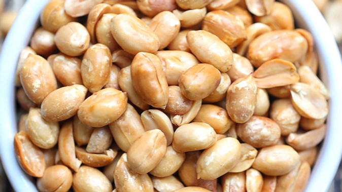 Dispensed Organic Salted & Roasted Peanuts (£/100g)