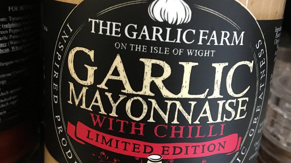 The Garlic Farm Garlic & Chilli Mayonnaise 240g (£/each)
