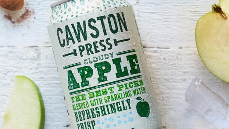 Cawston Press Sparkling Cloudy Apple Juice 330ml (£/each)
