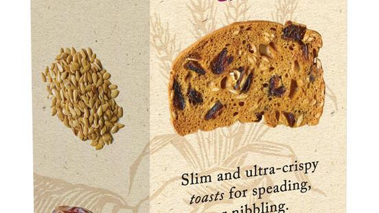 Miller's Toast - Plum & Date  (£/each)
