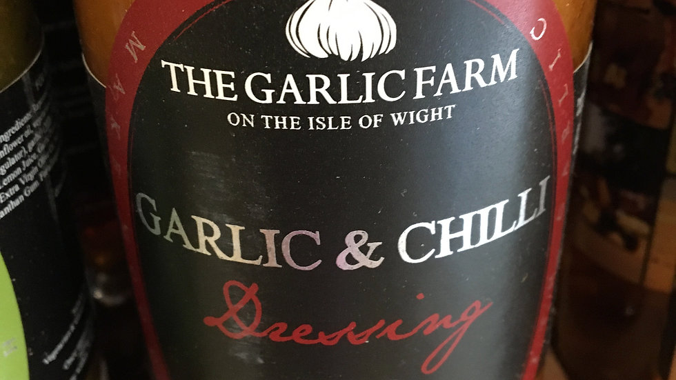 The Garlic Farm Garlic & Chilli Dressing 500ml (£/each)