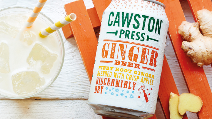 Cawston Press Sparkling Ginger Beer 330ml (£/each)