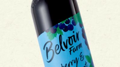 Belvoir Farm Blueberry & Blackcurrant Cordial 500ml (£/each)