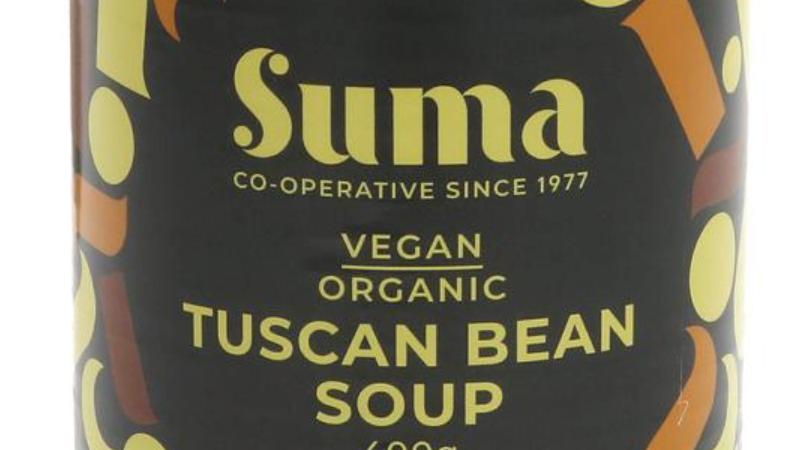 Suma Organic  & Vegan Tuscan Bean Soup 400g (£/each)