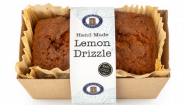 The Buxton Pudding Company Handmade Lemon Drizzle Loaf Cake 570g (£/each)