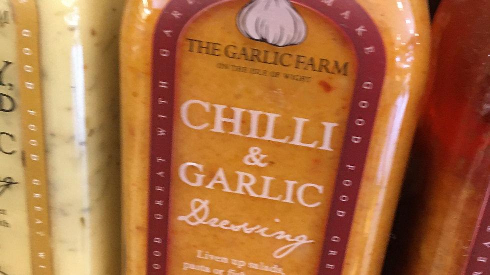 The Garlic Farm Garlic & Chilli Dressing 500ml (£/each)
