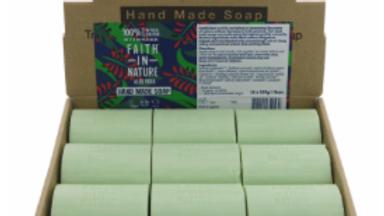 Faith in Nature - Loose Soap Bar 100 grams - Aloe Vera (£/each)